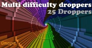 Herunterladen Multi Difficulty Droppers zum Minecraft 1.10