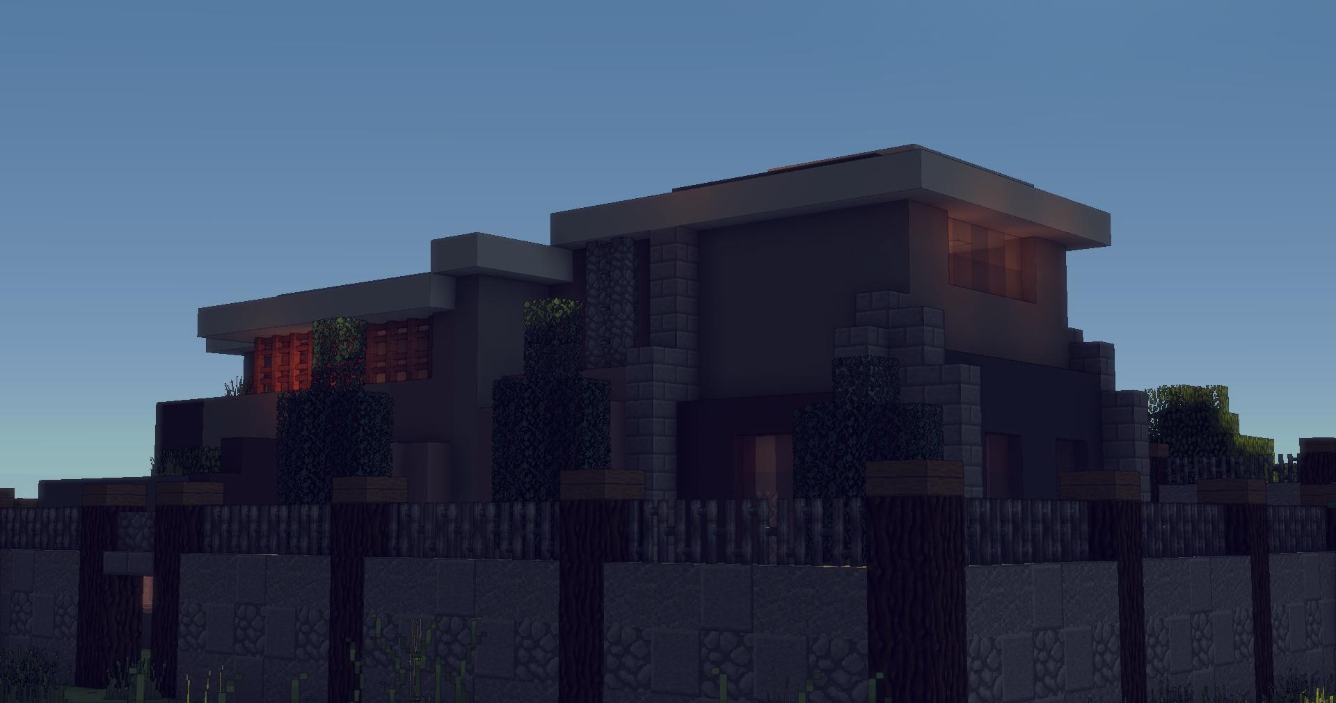 Herunterladen «Small Modern Home» (8 mb) Karte für Minecraft