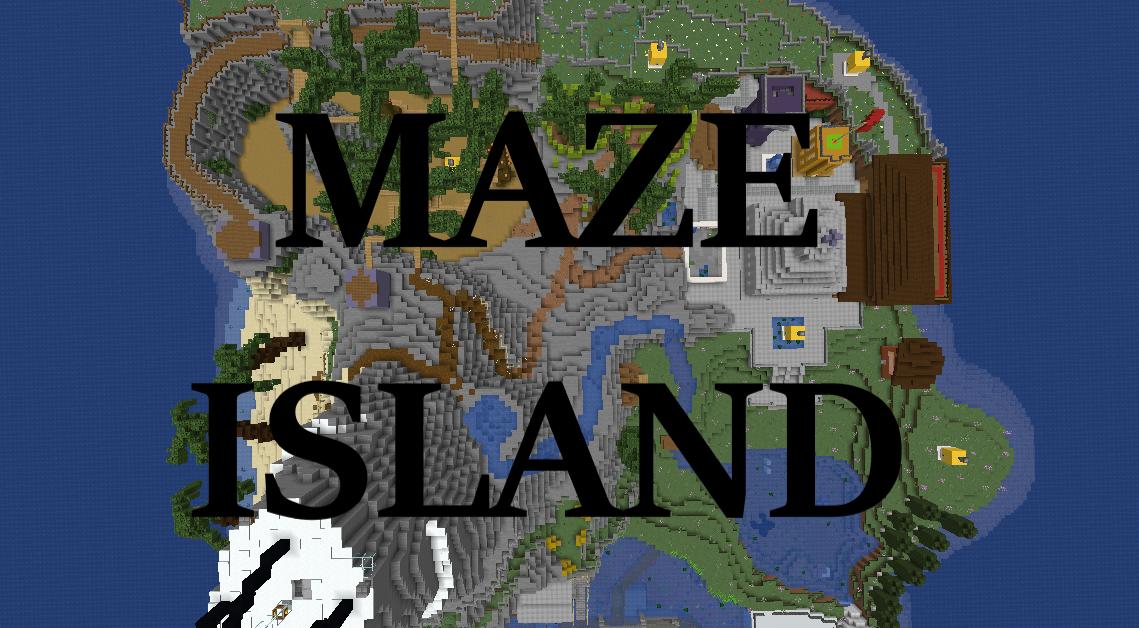 Minecraft Karte.Herunterladen Maze Island Karte Für Minecraft
