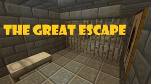 Herunterladen THE GREAT ESCAPE! zum Minecraft 1.14.4