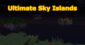 Herunterladen Ultimate Sky Islands zum Minecraft 1.15.2