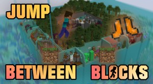 Herunterladen Jump Between Blocks zum Minecraft 1.16.5